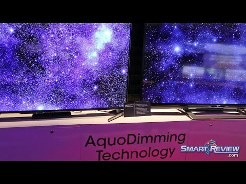 CES 2015 | Sharp Aquos HDTV & 4K TV Lineup 2015 | New UB30, UE30, UH30 UHD Series