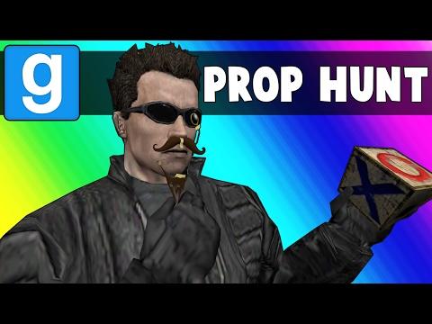Gmod Prop Hunt Funny Moments - Terroriser Spots in a Broken Map (Garry's Mod) (видео)
