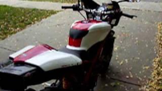 10. New paint job 2005 Ducati 999R Street Fighter !