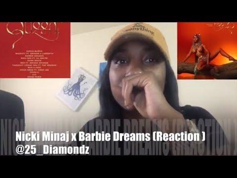 Nicki Minaj X Barbie Dreams | { QUEEN ALBUM } *Reaction