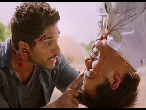 Race Gurram Movie Scenes - Allu Arjun warns Ravi Kishan - Shruti Hassan, Brahmanandam