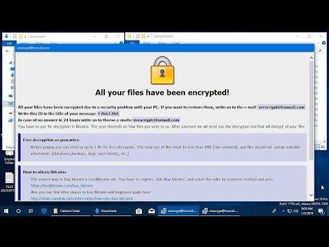 AppCheck Anti-Ransomware : CrySis Ransomware (.id-{Random}.[veracrypt@foxmail.com].adobe)