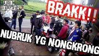 Video GUBRAKK!! New Vario Lowside Nubruk Ninja & CBR + Drone view | Sunmori Basah (Diary #36) MP3, 3GP, MP4, WEBM, AVI, FLV September 2018