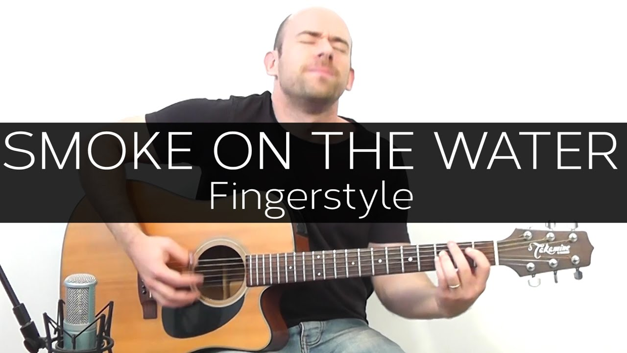 Smoke on the water (Deep Purple) – Acoustic Guitar Solo Cover (Violão Fingerstyle)