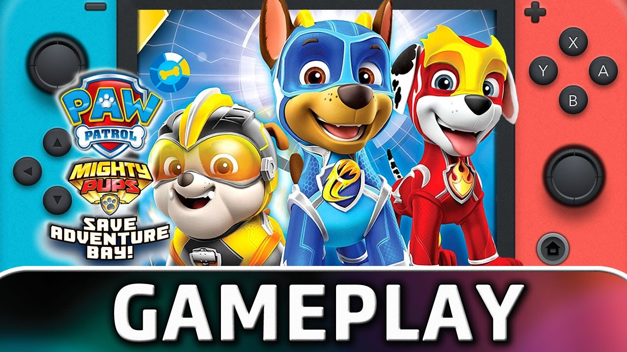 PAW Patrol Mighty Pups Save Adventure Bay | First 60 Minutes on Nintendo Switch