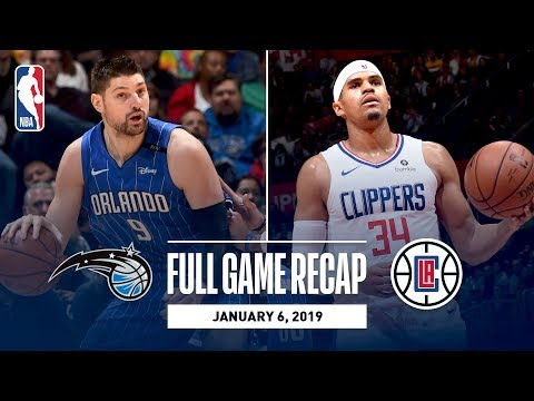 Video: Full Game Recap: Magic vs Clippers | Nikola Vucevic Grabs 24 Rebounds