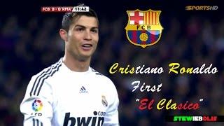 """Video Cristiano Ronaldo ● First """"El Clasico"""" Debut ● Barcelona Vs Real Madrid ● HD #CristianoRonaldo MP3, 3GP, MP4, WEBM, AVI, FLV Desember 2018"""