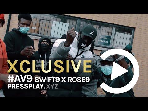 #AV9 Swift9 x Rose9 - Ghetto (Music Video) Prod. By Ghosty | Pressplay