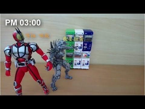 [短片]TAKARA TOMY扭蛋機的一天