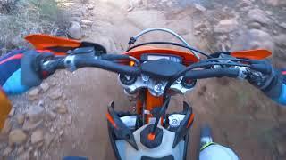 9. Heavy Breathing in Scottsdale Arizona - KTM 300 XC-W TPI   Day 2 Part 1