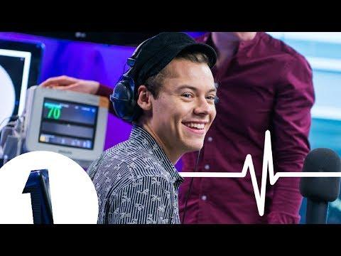Harry Styles HEART RATE MONITOR (видео)