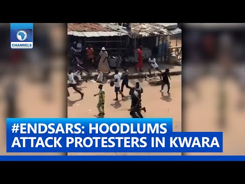 #ENDSARS: Hoodlums Attack Protesters In Kwara State