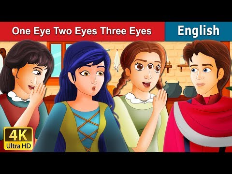 One Eye Two Eyes And Three Eyes Story | Stories for Teenagers | English Fairy Tales
