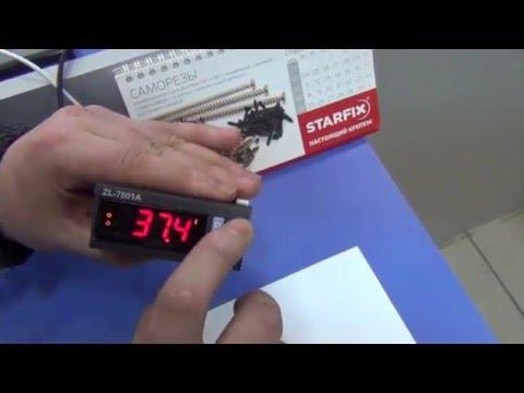 Регулятор температуры Подключение контроллера температуры для инкубатора Temp controller ZL 7801A (видео)