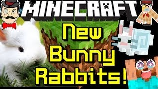 Minecraft News BUNNY RABBITS Coming Soon!
