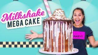 Video Massive Milkshake MEGA CAKE!!   How To Cake It MP3, 3GP, MP4, WEBM, AVI, FLV Maret 2019