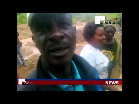 TÉLÉ 24 LIVE: Les Congolais creusent dans la colline à plus de 150 mètres de profondeur, pour chercher les minerais