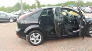 2007 Ford Focus Titanium 2.0TDCi 136 Hatchback Black For Sale In Hampshire