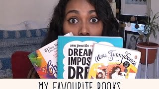 Hey guys!HAPPY NEW YEARRR!I thought I would start this year with a video with all of my favourite books, so for any of you who plan to read more this year (like me!) give these books a shot!Do let me know in comments below which are your favourite books :)And lets make 2017 a great year!Books mentioned:The boy in the striped pyjamas by John BoyneDan Brown series (Da Vince code, Angels and demons and Inferno)Mrs funnybones by Twinkle KhannaMary Higgins ClarkChicken soup series (for the teenage soul)Dream the impossible dream by the zen pencilsSocial Media:Facebook: https://www.facebook.com/NehaBharadwaj1994/Twitter: https://twitter.com/NehaGBharadwajInstagram: https://www.instagram.com/_nehabharadwaj_/This is not a sponsored video.All views expressed are mine, not meant to hurt any sentiments.All hate and negativity will be blocked