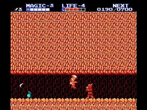 Zelda II : The Adventure of Link NES