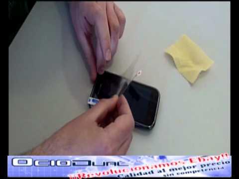Como colocar un protector de pantalla en tu móvil de forma rápida y fácil por Ociodual