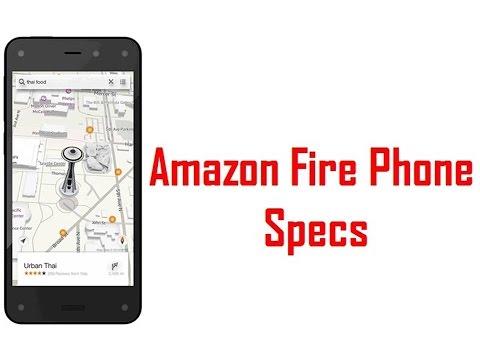 Amazon Fire Phone Specs & Features