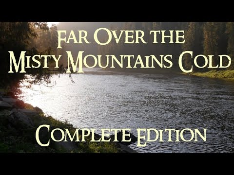 The Hobbit - Far Over The Misty Mountains Cold (Complete Edition Cover) - Clamavi De Profundis