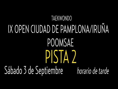 Open Internacional Pamplona. Sabado Pista 2
