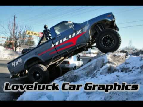 LOVELUCK CAR GRAPHICS