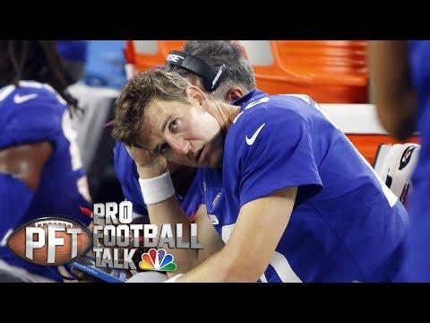 Video: Should Giants tank to secure a top QB in draft? I Pro Football Talk I NBC Sports