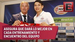 Hirving Lozano fue presentado oficialmente como jugador del PSV, el mexicano podría jugar su primer partido oficial en los próximos días.21 julio de 2017 COMENTA ESTE VIDEO Y COMPARTELO CON TUS AMIGOSPara más información entra: http://www.youtube.com/excelsiortvNo olvides dejarnos tus comentarios y visitarnos enFacebook: https://www.facebook.com/ExcelsiorMexTwitter: https://twitter.com/Excelsior_MexSitio: http://www.excelsior.com.mx/tvSuscríbete a nuestro canal: https://www.youtube.com/channel/UClqo4ZAAZ01HQdCTlovCgkA