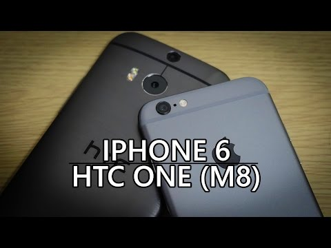 iPhone 6 vs HTC One (M8) – Quick Look