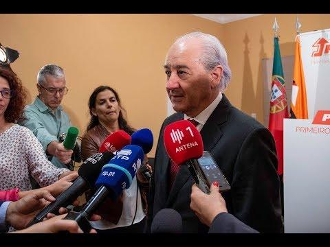 Declarações de Rui Rio após reunião com a Confederação do Turismo Português