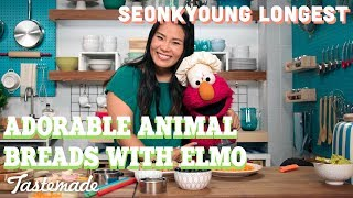 Adorable Animal Toast With Elmo I Seonkyoung Longest by Tastemade