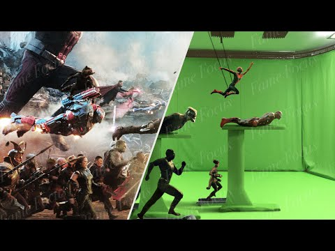 Avengers Endgame Without the VFX [VFX Breakdown]