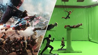Avengers Endgame Without the VFX - Part 1 [Cinesite VFX Breakdown]