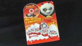 Kinder Surprise - Kung Fu Panda (2008) (Kinder Überraschung) (Kinder Sorpresa)