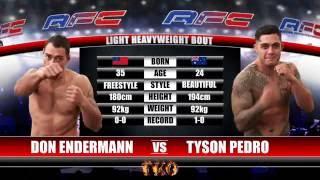 Video AFC 16 - Don Endermann Vs Tyson Pedro MP3, 3GP, MP4, WEBM, AVI, FLV Desember 2018