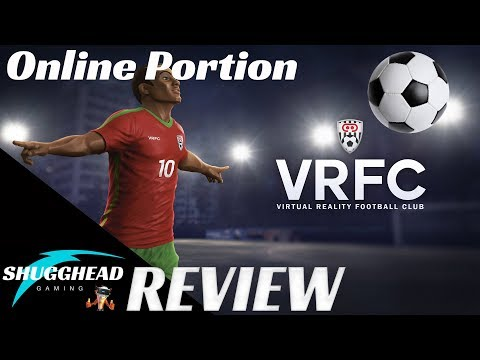 VRFC - PSVR Review (5v5 Soccer) Online Multiplayer Match