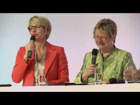 Matthias Backhaus - Diskussion mit Sylvia Löhrmann, Ministerin für Schule und Weiterbildung des Landes Nordrhein-Westfalen, Holger Backhaus-Maul, Soziologe an der Martin-Luther-...