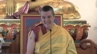 Teaching with Gen-la Kelsang Dekyong