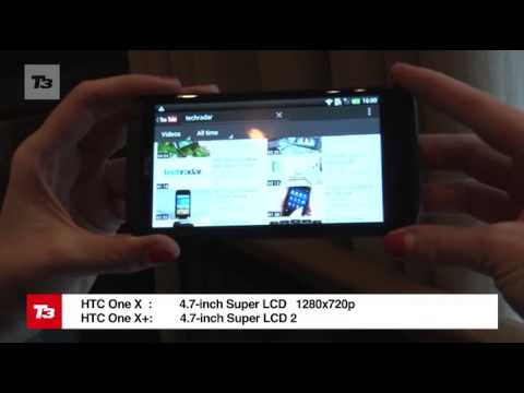 HTC One X+ Vs HTC One X video