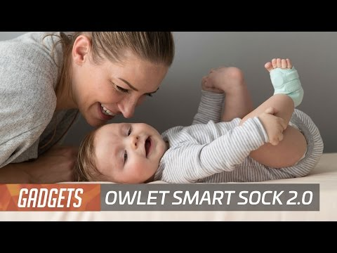 Owlet updates its smart baby health monitoring sock so babies can't kick it off