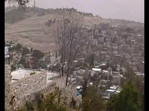 visiting MOUNT ZION, JERUSALEM