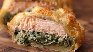 Puff Pastry Salmon (Salmon Wellington) by Tasty