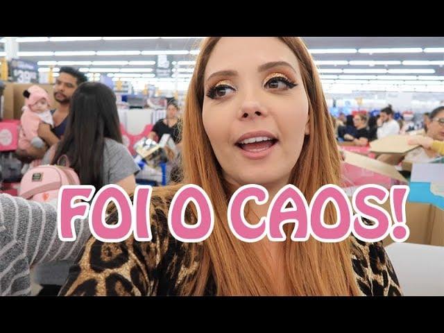BLACK FRIDAY NOS EUA: Fomos ao WALMART!!! - Claudinha Stocco