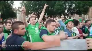 Irlandzcy kibice są zajebiści! Najpierw wsadzili hajs przez okno, a potem naprawili auto!