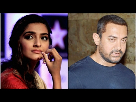 Sonam Irked When Asked About Anand | Aamir Gets Em