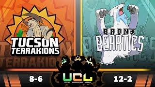 Pokémon ORAS LIVE Wi-Fi Battle [UCL S2W15] Tucson Terrakions vs Bronx Beartics by King Nappy