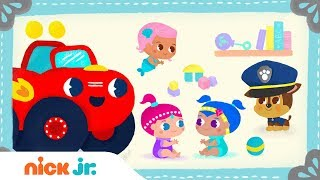 Baby Sing-Along 🍼PAW Patrol, Blaze, Shimmer and Shine & Bubble Guppies | Nick Jr. Music